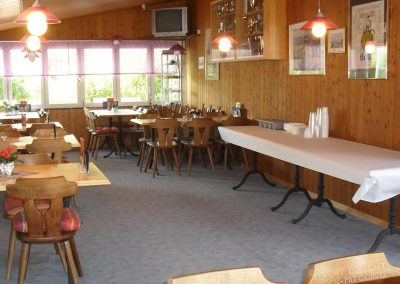 Restaurant und Clubraum
